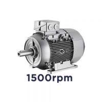Motor electrico trifásico Siemens | 1500 rpm | 4 polos
