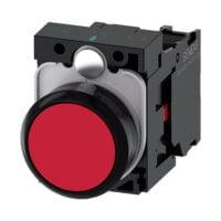 Pulsador de Seta - Siemens -3SU1100-1BA20-1CA0