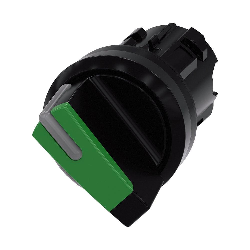 Selector Iluminable 22 mm - Siemens - 3SU1002-2BF40-0AA0