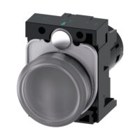 Lámpara de señalización con semáforo - Siemens - 3SU1201-6AF24-1AA0